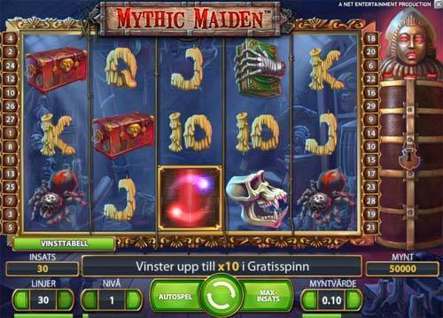Mythic Maiden slot free play demo