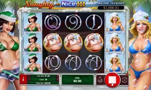 Naughty Or Nice 3 Videoslot Screenshot