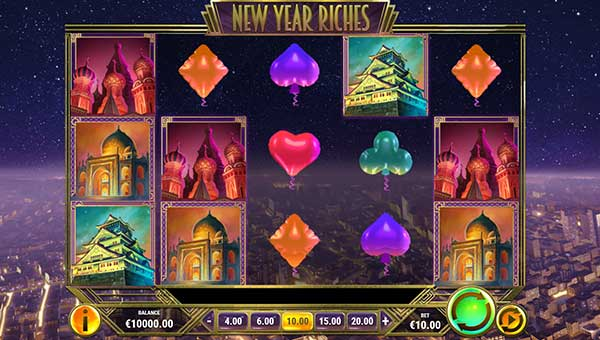 new year riches slot overview and summary