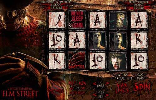 Nightmare on Elm Street slot free play demo