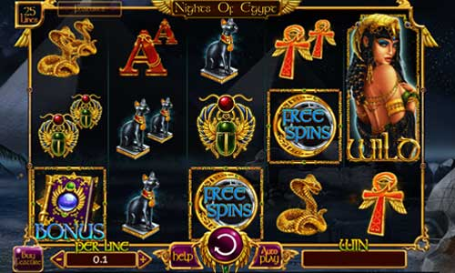 Nights of Egypt slot
