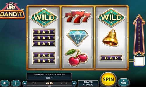 No Limit Bandit Videoslot Screenshot