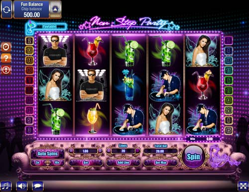 Non-Stop Party slot Games OS