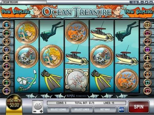 Ocean Treasure slot free play demo