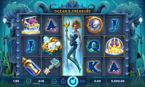 oceans treasure slot review