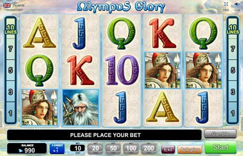 Olympus Glory slot free play demo