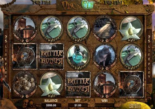 Orc vs Elf slot