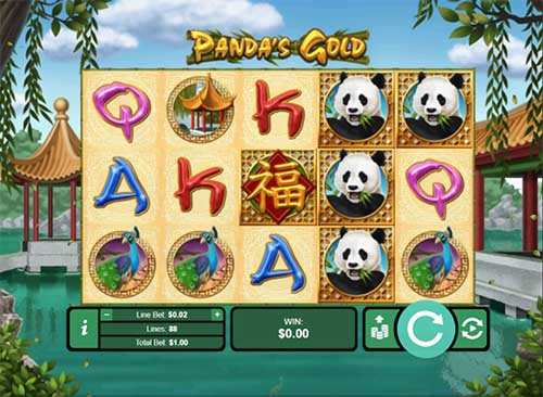 Pandas Golds slot