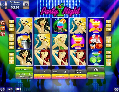 Limo Party Slots - Play SkillOnNet Games for Fun Online