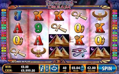 Free Pharaohs Dream Slot Review (Bally) | CasinoGamesOnNet com