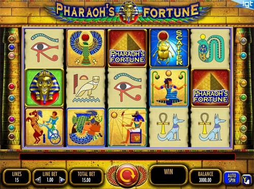 free casino games pharaohs fortune