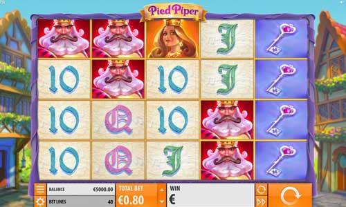 Pied Piper Videoslot Screenshot