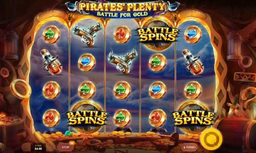 Pirates Plenty 2 Battle for Gold slot