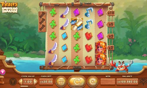 Pirates Smugglers Paradise slot
