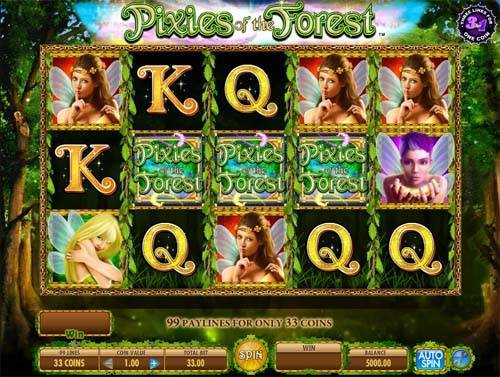 Pixies of the Forest slot free play demo