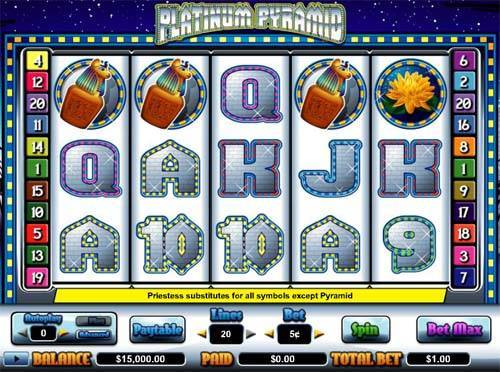 platinum casino game