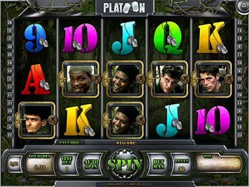 Platoon slot free play demo