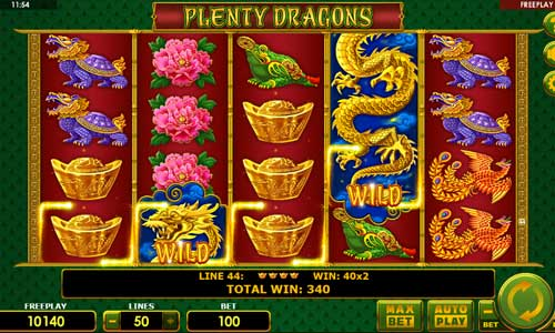 Plenty Dragons slot