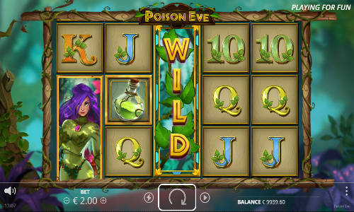 poison eve slot review