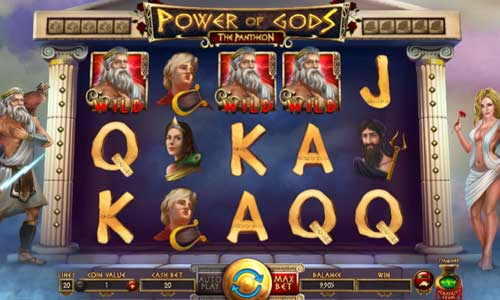 Power of Gods The Pantheon slot