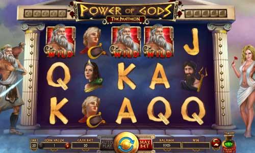 Power of Gods The Pantheon Videoslot Screenshot