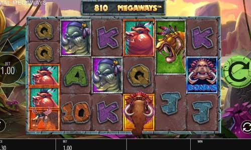 Primal Megaways Videoslot Screenshot