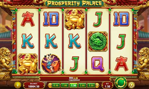 Prosperity Palace Videoslot Screenshot
