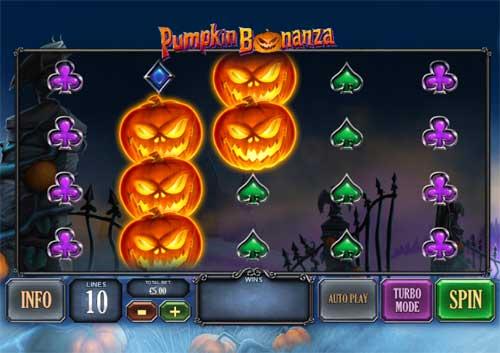 Pumpkin Bonanza Videoslot Screenshot