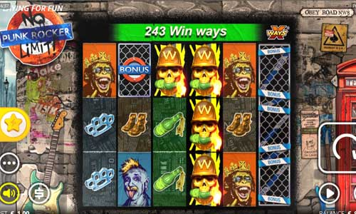 punk rocker slot overview and summary