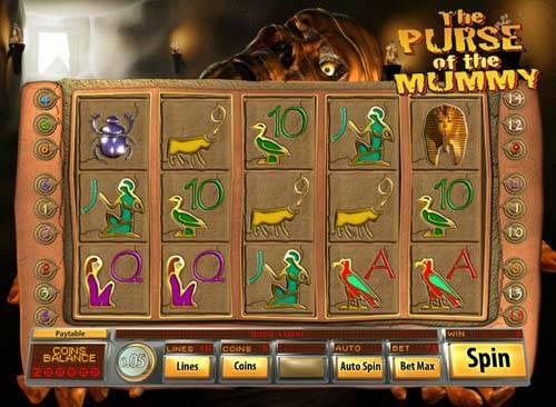 Purse of the Mummy slot free play demo
