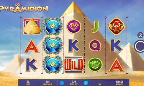 Pyramidion Videoslot Screenshot