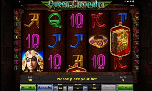 Queen Cleopatra game is not yet available for fun play.