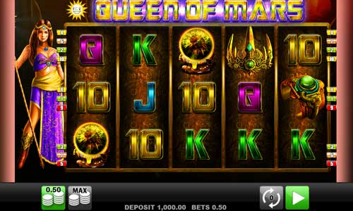 Queen of Mars slot