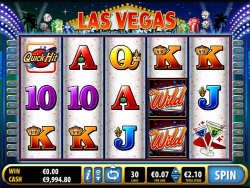slot machines games list