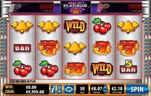 play online casino slots sizzling games