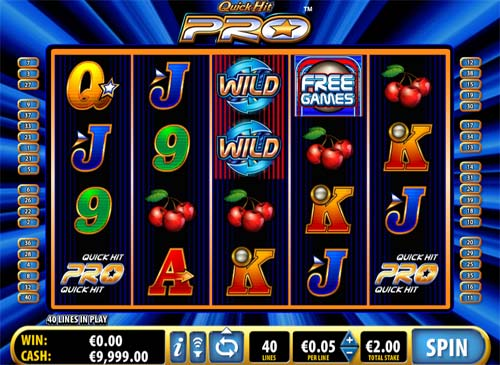 free online casino video slots free spin game