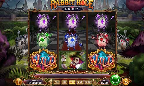 rabbit hole riches slot overview and summary