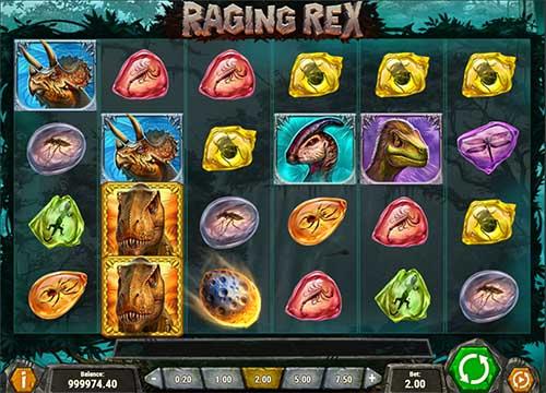 Raging Rex Videoslot Screenshot