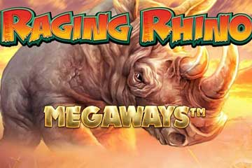 Raging Rhino Megaways slot free play demo
