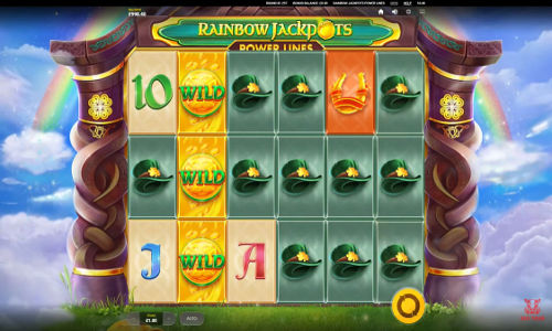 Rainbow Jackpots Power Lines slot