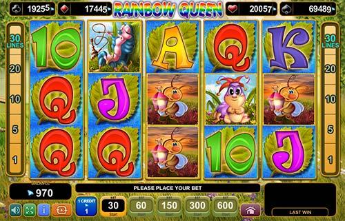 Rainbow Queen slot free play demo