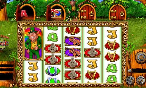 Rainbow Riches Home Sweet Home Videoslot Screenshot