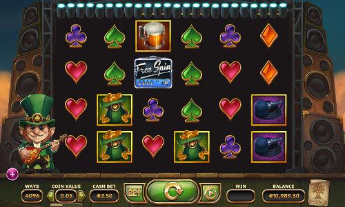 Rainbow Ryan Videoslot Screenshot