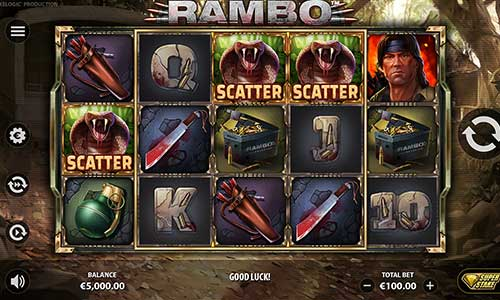 rambo slot overview and summary
