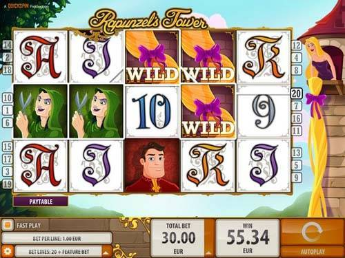 Rapunzels Tower slot free play demo