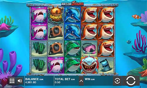 razor shark slot review