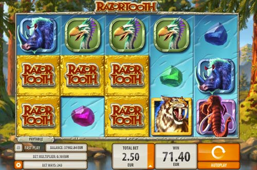 Razortooth Slot - Play Quickspin Games for Fun Online