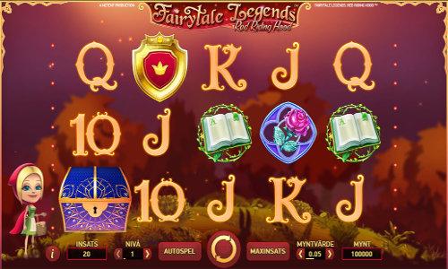 Fairytale Legends Red Riding Hood Videoslot Screenshot