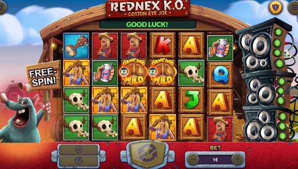 Rednex KO Videoslot Screenshot