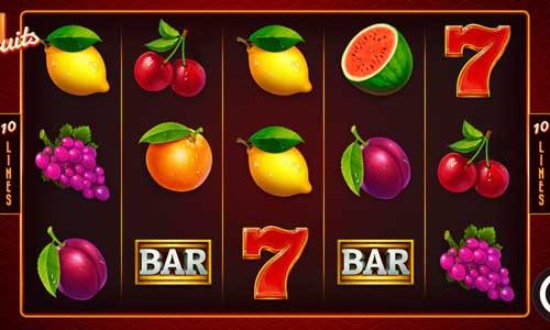 Reel Fruits Videoslot Screenshot